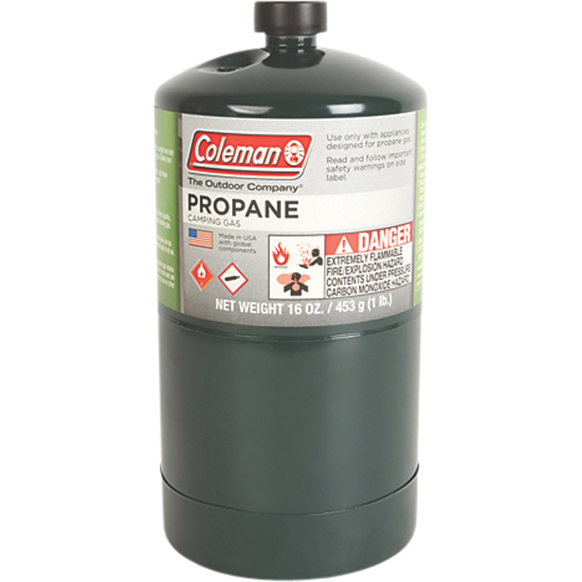 coleman propane camping gas 453grams. Black Bedroom Furniture Sets. Home Design Ideas